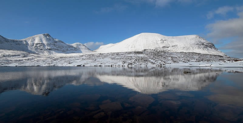 snow-covered Quinag