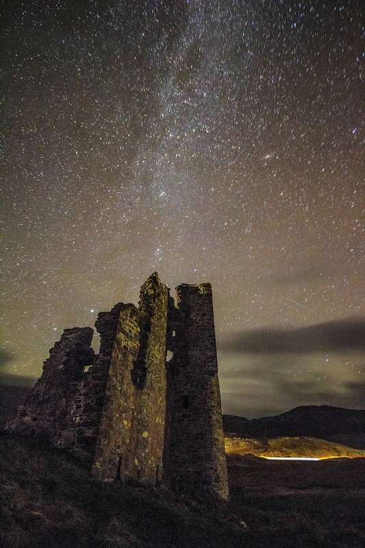 starry night at Ardvreck Castle, Assynt